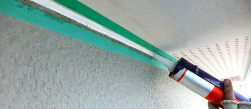 コーキング用マスキングテープ使用イメージ