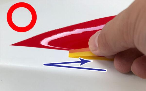 マスキングテープの剥がし方_良い例